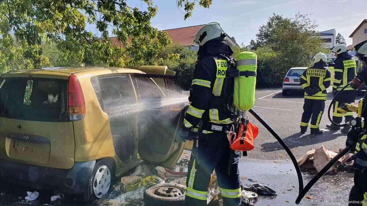 Rodenbach / Langenselbold: Feuerwehr auf Achse: Zwei Feuer am Sonntag - op-online.de