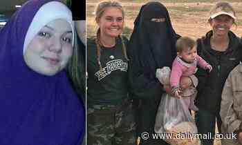 Australia's first ISIS bride is jailed in Turkey after she fled Syrian refugee camp with her kids