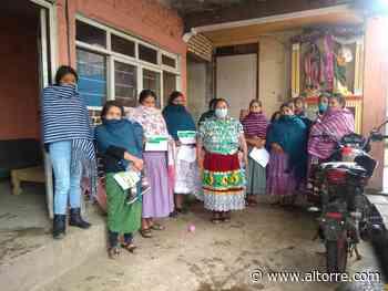 Entrega Palabra de Mujer créditos a 43 mujeres de Cuitzeo, Paracho, Uruapan y Zitácuaro - Altorre