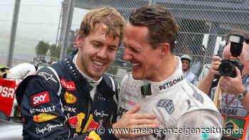 Formel 1: Ärger wegen Michael Schumacher - Sebastian Vettel packt aus