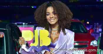 Brunna Gonçalves usa look sexy no 'Prêmio Jovem 2020': superfenda, top e mais! - Purepeople.com.br