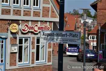 August-Hillert-Platz in Harsefeld eingeweiht - TAGEBLATT - Lokalnachrichten aus Harsefeld. - Tageblatt-online