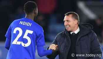 Boss Rodgers: Wilfred Ndidi could be out for three months