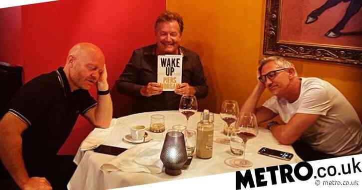 Piers Morgan sends TV nemesis Gary Lineker and EastEnders star Jake Wood to sleep with his new book
