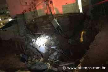 Desabamento atinge e interdita Hospital de Campanha em Conselheiro Lafaiete - O Tempo