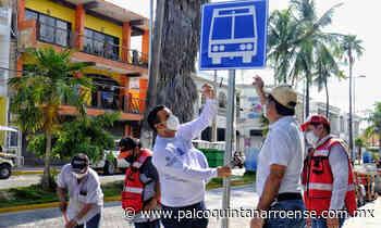 Contará Isla Mujeres con paraderos del transporte público - Palco Quintanarroense