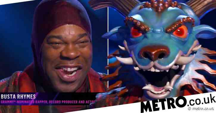 The Masked Singer US returns as dragon revealed to be legendary rapper Busta Rhymes