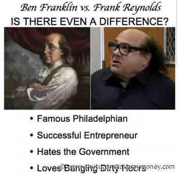 Ben Franklin Vs Frank Reynolds – Meme