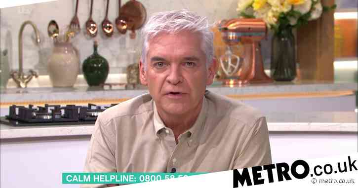 Phillip Schofield admits mental health struggles left him in 'dark and scary place' over this year
