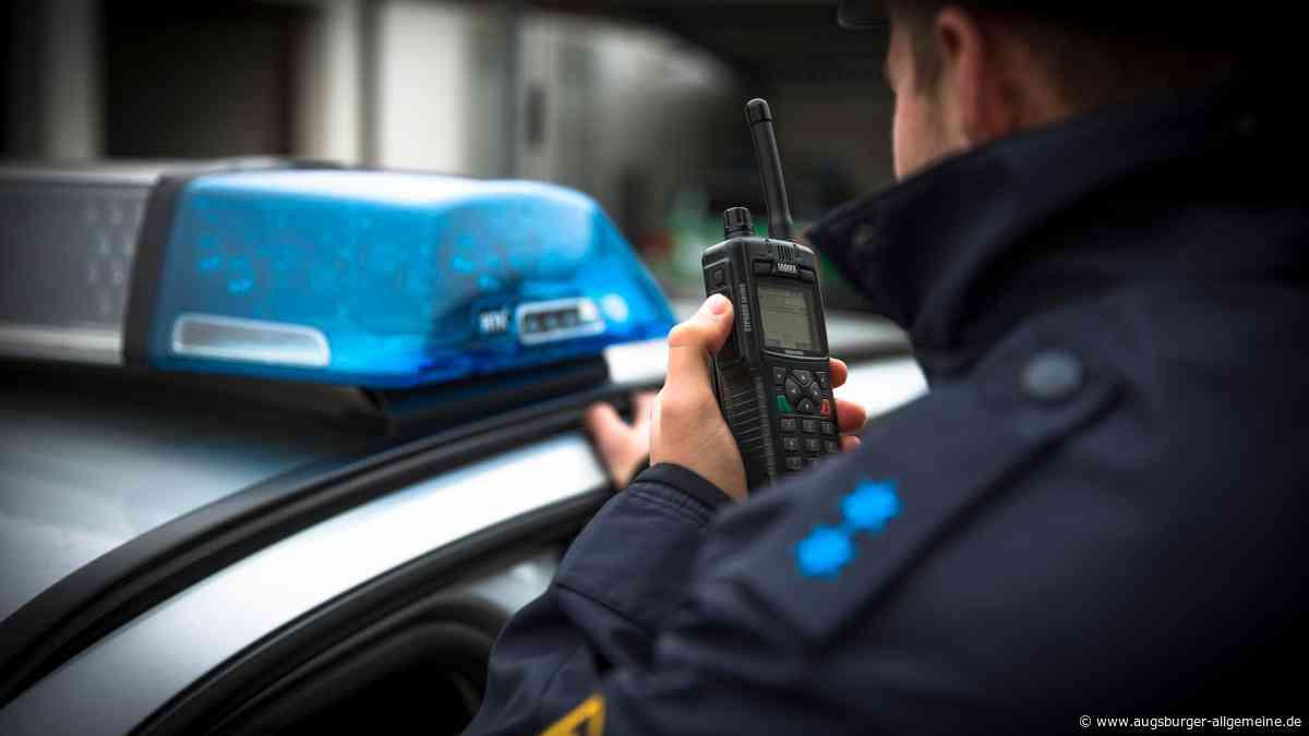 Landsberg: Mann flüchtet vor der Polizei und wehrt sich