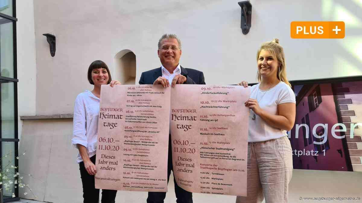 """Heimattage in Bopfingen finden """"dieses Jahr mal anders"""" statt - Augsburger Allgemeine"""