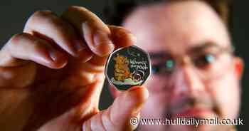 Royal Mint unveils new Winnie the Pooh 50p design