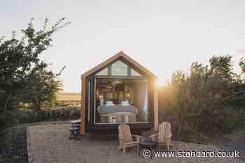 Cosy break away? Try a shepherd's hut out for size