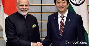 Shinzo Abe, Premierminister von Japan, spricht 30 Minuten lang mit Premierminister Modi - videolix
