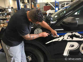 Bend police removing 'thin blue line' from patrol cars - KTVZ