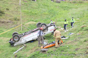Joven muere por vuelco de camioneta en Tarqui - El Mercurio (Ecuador)