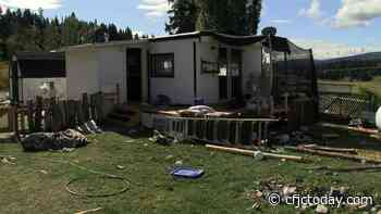 WATCH: Merritt-area mobile home left in disarray after squatting tenants forced to leave - CFJC Today Kamloops