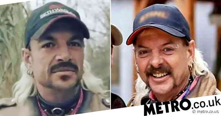 Peter Andre morphs into Tiger King's Joe Exotic and the results are freaky
