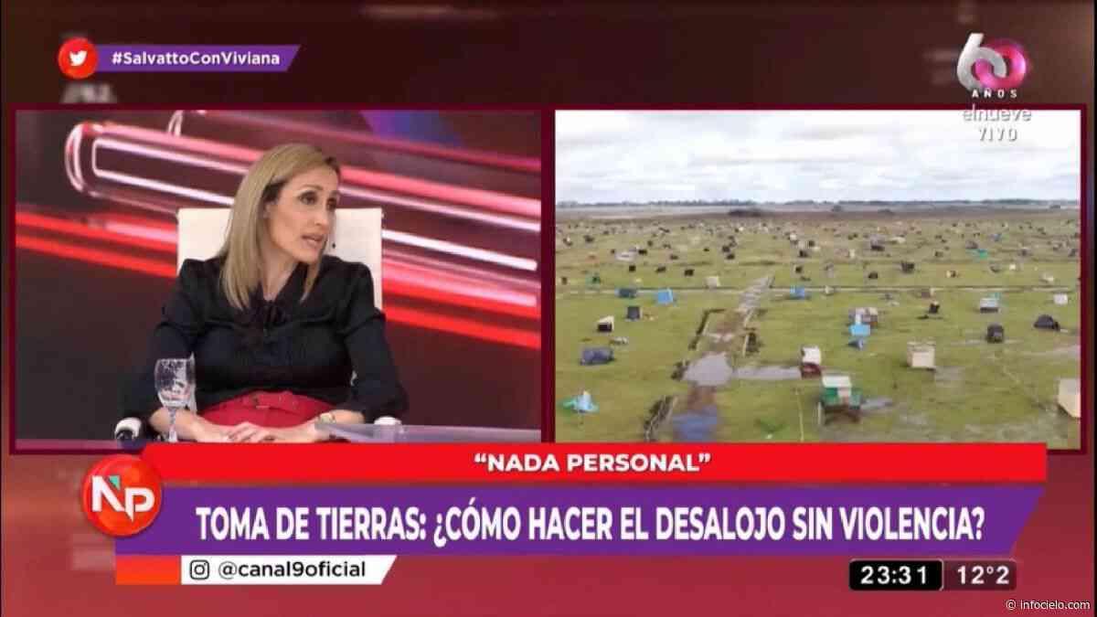 """Florencia Arrietto dijo que el Gobierno debe \""""cortarle los insumos\"""" a quienes participan de la toma de tierras - Infocielo"""