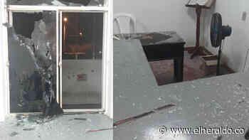 Atacan con explosivos estaciones de Policía en Curumaní y Pailitas, Cesar - EL HERALDO