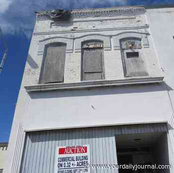Downtown Rockingham building, other properties auctioned off - Richmond County Daily Journal