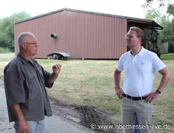 Dr. Jens Mischak zu Gast auf dem OtterbacherhofMit Leib und Seele Landwirt - Oberhessen-live