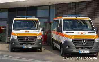 Zwei neue Fahrzeuge für das DRK in Deckenpfronn und Aidlingen - Gäubote - Die Herrenberger Zeitung