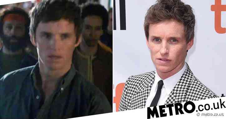 Eddie Redmayne's American accent in new Trial of the Chicago 7 trailer has fans conflicted