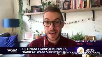 UK finance minister unveils 'radical' wage subsidy plan
