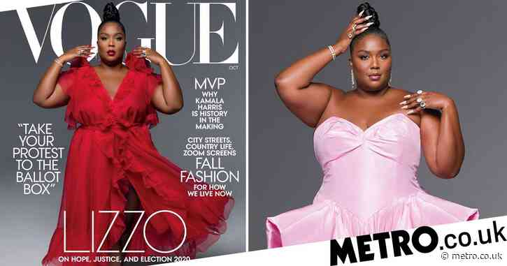 Lizzo wants 'being fat to be normalised' as she brings her juice to cover of Vogue