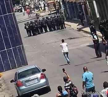 Yaracuy | Habitantes de Bruzual y Bolívar protestan por fallas en servicios públicos - El Pitazo