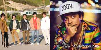 J-pop act ARASHI collaborates with Bruno Mars for new English single 'Whenever You Call' - Bandwagon