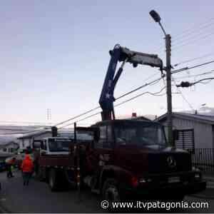Corte de suministro eléctrico en Punta Arenas y Puerto Natales debido a fuerte viento - ITVNoticias