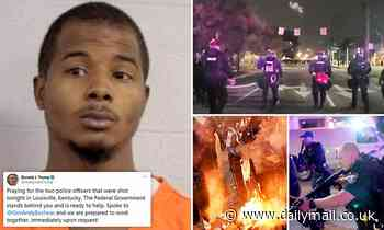 Man charged with wanton endangerment over Louisville cop shooting - same as Breonna Taylor cop