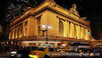 Railway workers suspended over Grand Central Station 'man cave'
