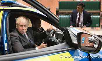 So why DID Boris miss Rishi's Budget-replacing Winter Plan to pose in police cars?