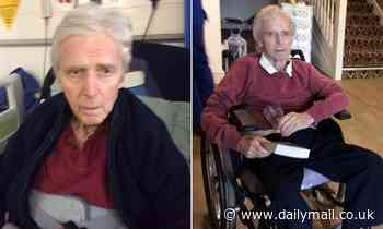 Wife is allowed next to husband with Parkinson's disease once in six months despite not having Covid