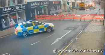 Stoke-on-Trent town centre road closed due to gas leak - Stoke-on-Trent Live