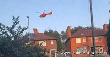 Air ambulance called after child injured by swing in Stoke-on-Trent park - Stoke-on-Trent Live