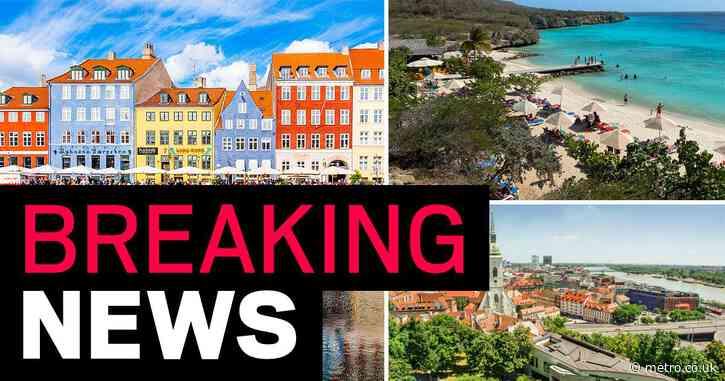 Denmark, Slovakia, Iceland and Curacao added to travel quarantine list