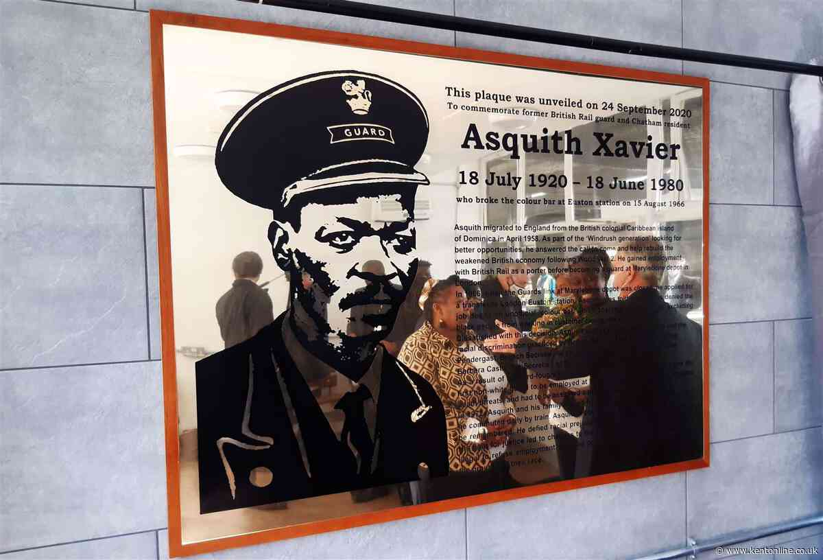 Equality pioneer honoured with plaque at station