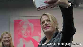 Eddie Izzard and Sex Pistols drummer Paul Cook help launch Icons exhibition