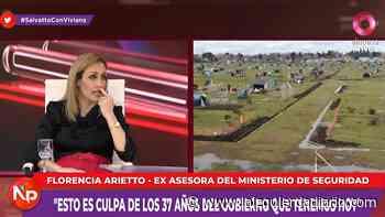 Toma de tierras: Florencia Arietto propone echar a miles de familias por hambre y sed - La Izquierda Diario