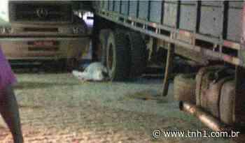 Ao manobrar caminhão, motorista atropela o próprio irmão em Porto Calvo - TNH1