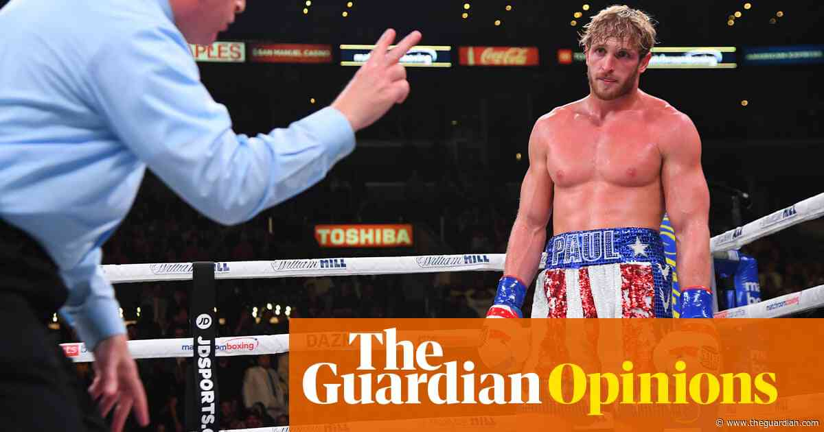 Floyd Mayweather v Logan Paul: a note-perfect signpost for the end of days