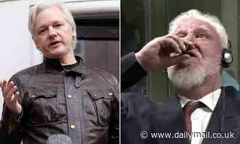Julian Assange binge-watched footage of war criminal killing himself in court after losing his case