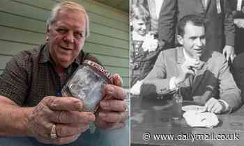 Illinois man keeps Richard Nixon's half-eaten sandwich for 60 years