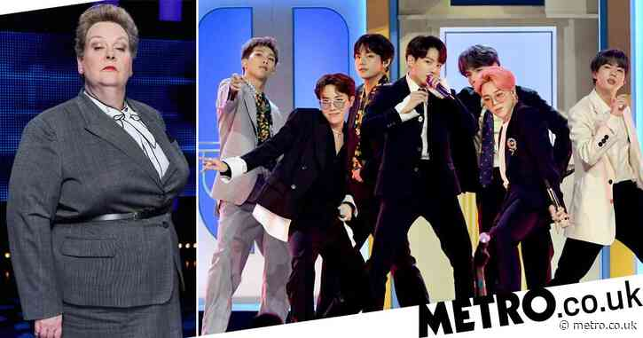 The Chase's Anne Hegerty under fire after branding BTS 'a little Korean boy band that's fundamentally not important'
