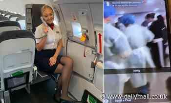 Coronavirus Hong Kong: Hazmat-suited officials detain BA cabin crew in Hong Kong
