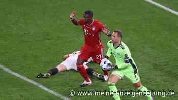 FC Bayern: David Alaba mit Riesen-Schnitzer gegen Sevilla - mitten in der Vertrags-Posse